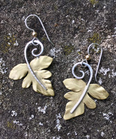 Sensitive Fern Earrings