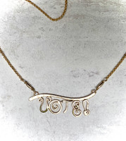 VOTE! Necklace in 14k Gold-filled