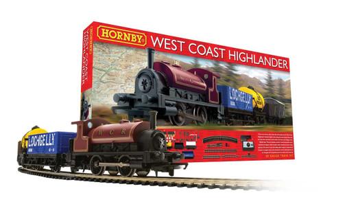 Hornby West Coast Highlander Train Set R1157