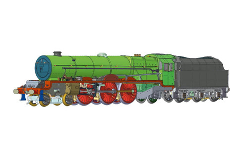Hornby BR, Princess Royal, 4-6-2, 46206 'Princess Marie Louise' - Era 4 R3711X