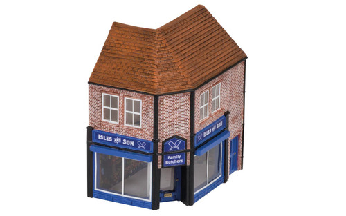 Hornby OO Gauge The Butcher's Shop R9845