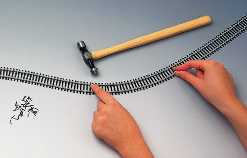 Hornby OO Gauge Flexible Track (970mm) R621
