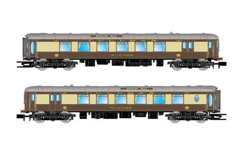Arnold N Gauge  Pullman, set of 2 coaches 5-BEL 'Brighton Belle', coach and railcar, period VI
