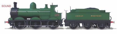 Oxford Rail OO Gauge Dean Goods Steam Locomotive Great Western 2475 (DCC-Sound) OR76DG003XS