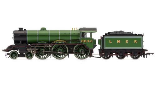 Hornby LNER, B17/2 Class, 4-6-0, 2842 'Kilverstone Hall' - Era 3 R3447