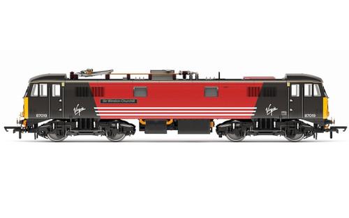 Hornby 00 Gauge Virgin Trains, Class 87, Bo-Bo, 87019 'Sir Winston Churchill' - Era 9 R3656