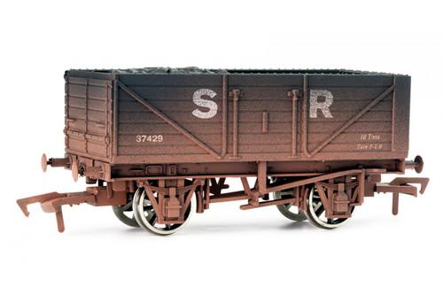 Dapol 16t Steel Mineral Wagon GWR Loco Coal Wagon Weathered OO Gauge
