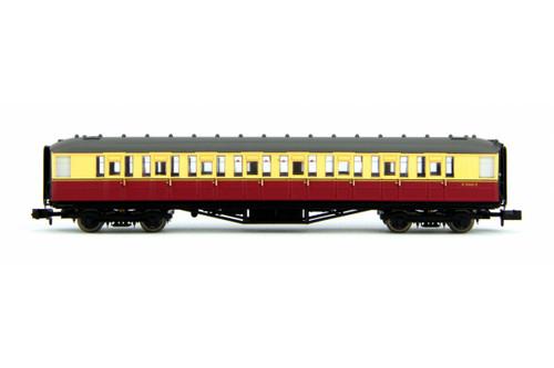 Dapol Gresley BR Carmine/Cream 2nd Class Coach E12621E N Gauge