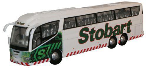 Oxford Diecast OO Scania Irizar PB Eddie Stobart 1/76