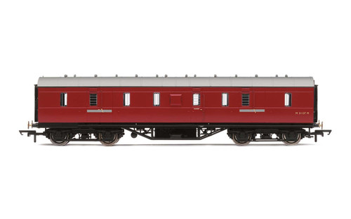 BR Maroon HORNBY Coach R4625 RailRoad BR Mk1 Parcels