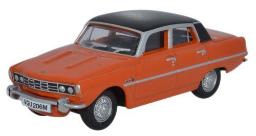 Oxford Diecast OO Rover P6 Paprika 1/76