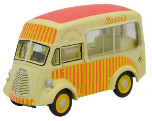 Oxford Diecast OO Morris J Type Ice Cream Van Rossis 1/76