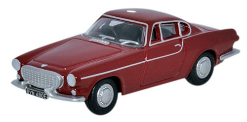 Oxford Diecast OO Volvo P1800 Red 1/76
