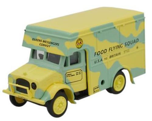 Oxford Diecast OO Bedford OY30 Food Flying Squad 1/76