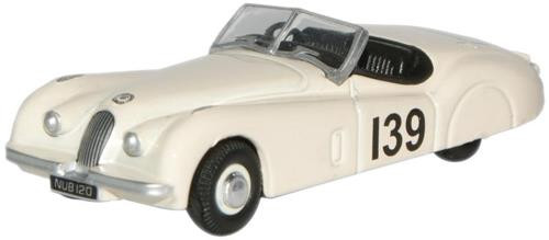 Oxford Diecast OO Jaguar XK120 Ian Appleyard 1/76