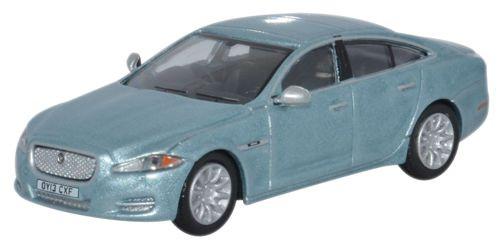 Oxford Diecast OO Jaguar XJ Crystal Blue 1/76