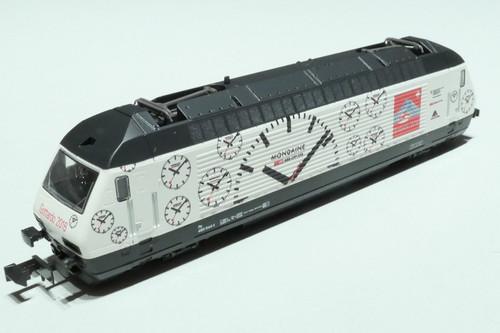 Kato (Europe) N Gauge SBB Re460 Mondaine Electric Locomotive VI