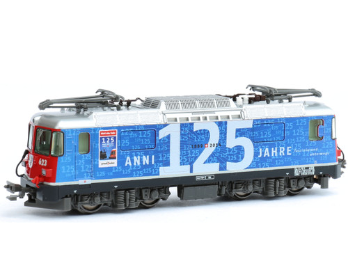 Kato (Europe) N Gauge RhB Ge4/4 II Bonadux 623 125yr Electric Locomotive VI