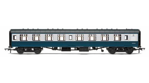 Hornby 00 Gauge BR, Mk1 Coach Corridor Second Class, W25908, Blue & Grey Livery - Era 7 R4772