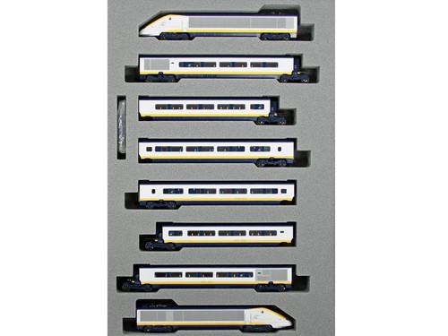 Kato N Gauge Eurostar Class 373 005/006 Classic 8 Car Powered Set K10-1295