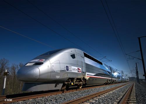 Marklin HO Gauge SNCF TGV Duplex V150 Train Pack VI (MFX-Sound) MN37797