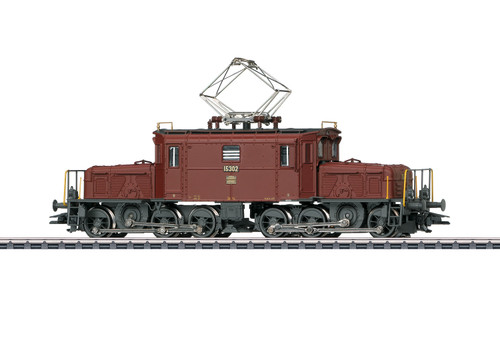 Marklin HO Gauge SBB De6/6 Seetal Crocodile Electric Loco III (MFX-Sound) 37511