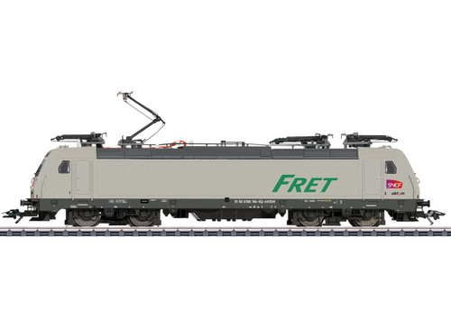 Marklin HO Gauge SNCF Fret TRAXX2 E186 Electric Loco VI (MFX-Sound) 36625