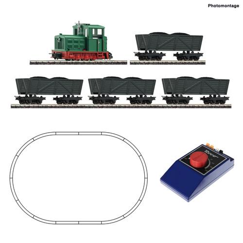 Roco HO Train Sets Industrial Diesel Freight Starter Set