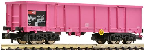 Fleischmann N Gauge Start SBB Gondola Pink V