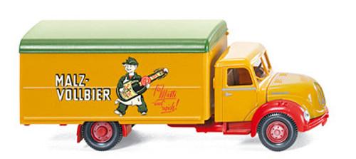 Wiking HO Vehicles  Magirus Lorry Malz Vollbier WK8554034