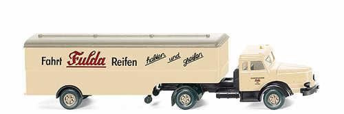 Wiking HO Vehicles Krupp Truck Fulda Reifen WK8913837