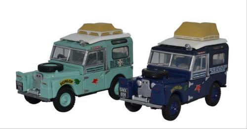 Oxford O Gauge Vehicles Land Rover First Overland Set (2) OD76SET64
