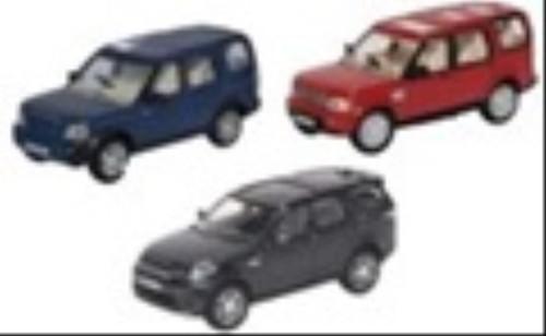 Oxford O Gauge Vehicles Land Rover Discovery Set 3/4/5 (3) OD76SET71