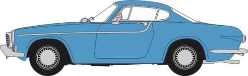 Oxford O Gauge Vehicles Volvo P1800 Teal Blue OD76VP004
