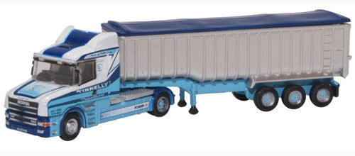 Oxford O Gauge Scania T Cab Tipper Tinnelly ODNTCAB005