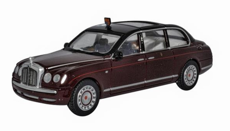 Oxford Diecast OO Bentley State Limousine HM The Queen 1/76 OD76BSL001