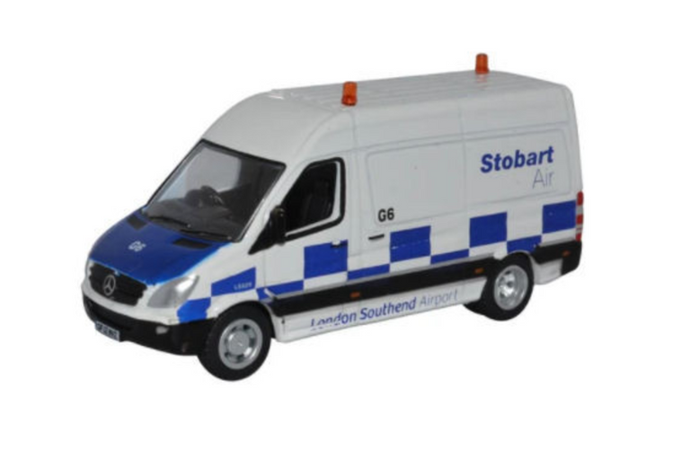 Oxford Diecast OO Mercedes Sprinter Van Stobart Air 1/76 OD76MSV001