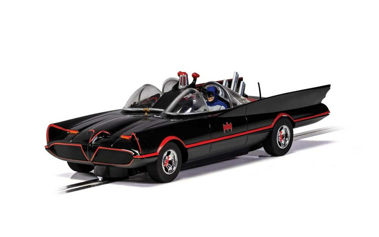 Scalextric Slot Car C4175 Batmobile - 1966 TV Series
