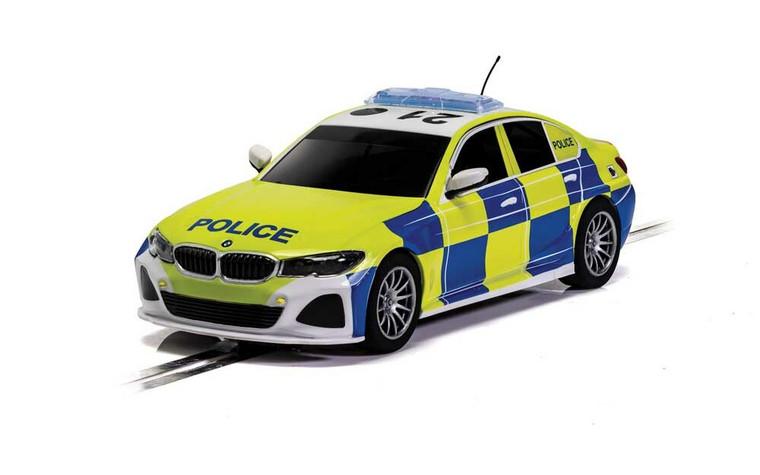 Scalextric Slot Car C4165 BMW 330i M-Sport - Police Car
