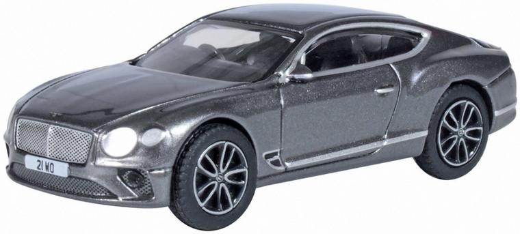 Oxford Diecast OO Bentley Continental GT Sport Tungsten 1/76 76BCGT002