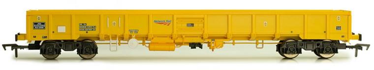 Dapol OO Gauge JNA Falcon Wagon Network Rail Yellow NLU29008 1/76 Dapol OO Gauge JNA Falcon Wagon Network Rail Yellow NLU29008