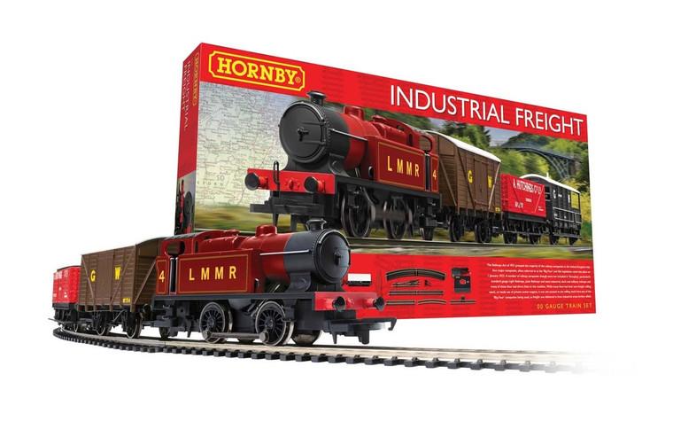 Hornby Industrial Freight Train Set R1228