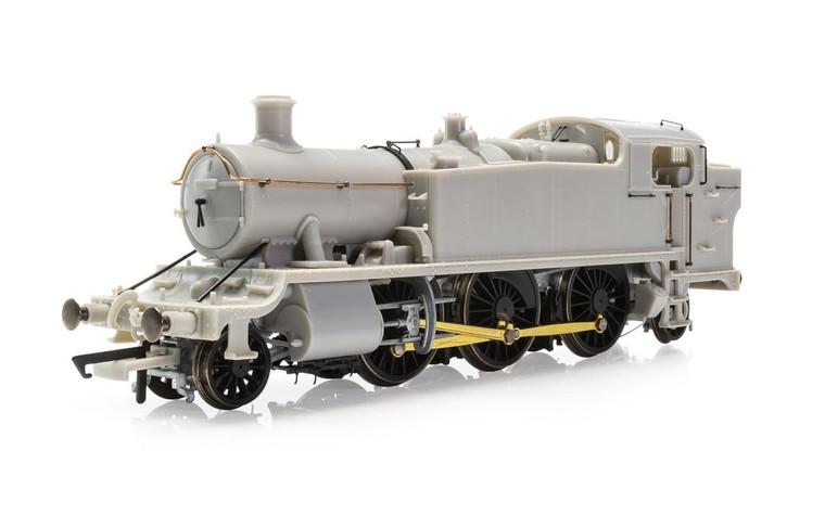 Hornby GWR, Class 5101 'Large Prairie', 2-6-2T, 4154 - Era 3