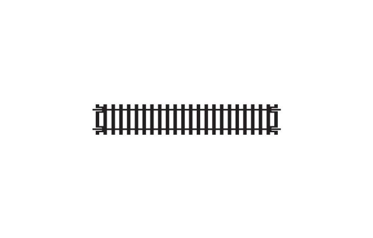 Hornby OO Gauge Straight Track R600
