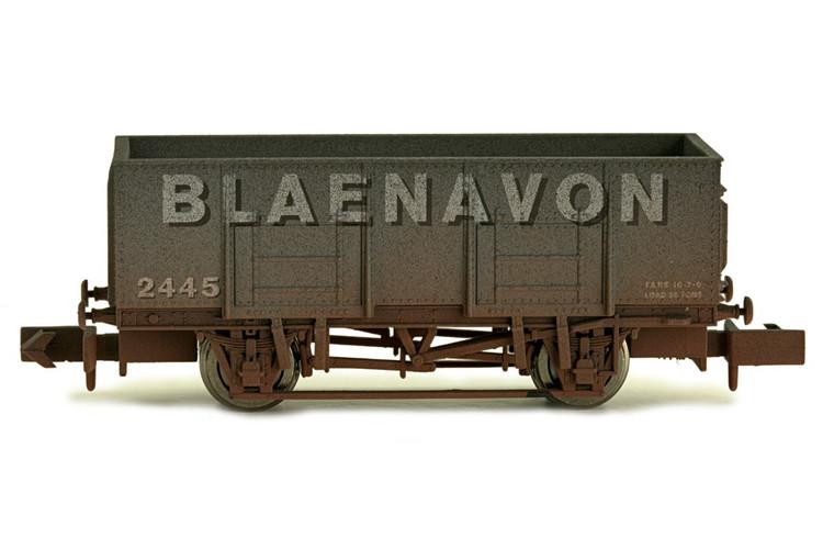 Dapol 20t Steel Mineral Wagon Blaenavon Weathered N Gauge