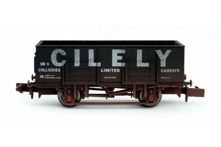 Dapol 20t Steel Mineral Wagon Cilely 18 Weathered N Gauge 2F-038-038