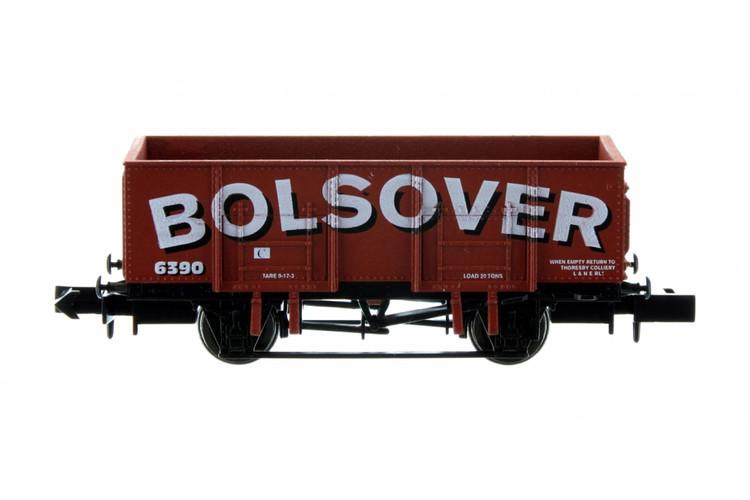 Dapol 20t Steel Mineral Wagon Bolsover 6395 N Gauge 2F-038-053