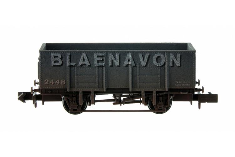 Dapol 20t Steel Mineral Wagon Blaenavon 2448 Weathered N Gauge