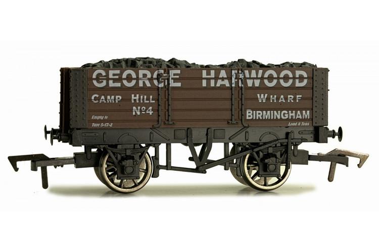 Dapol 5 Plank Wagon 9' Wheelbase George Harwood OO Gauge