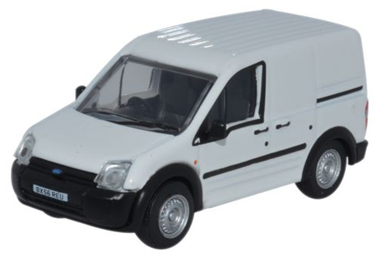 Oxford Diecast OO Ford Transit Connect White 1/76